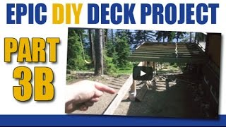 Epic Diy Deck Project- Part 3b- More Joists & Minor Fix