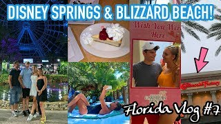 DISNEY SPRINGS, BLIZZARD BEACH & THE CHEESECAKE FACTORY!