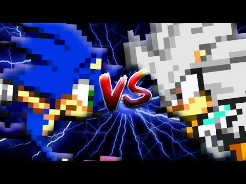 Sonic Can Episode 1 | Sonic Vs Silver (Sprite Animation)