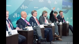 Теледебаты клуба «Валдай» на канале «Россия-24» в рамках ВЭФ-2018
