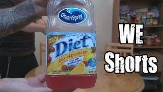 WE Shorts - Ocean Spray Diet Cran-Lemonade