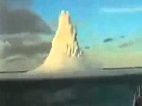 взрыв подводной мины
