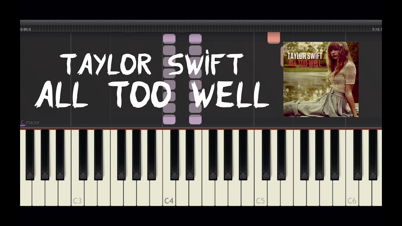 Taylor swift all too well piano tutorial by amadeus synthesia taylor swift all too well piano tutorial by amadeus synthesia hexwebz Choice Image