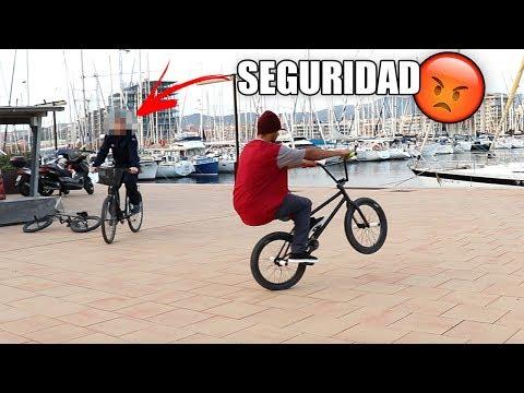 SEGURIDAD vs BMX 😡