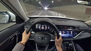 POV Drive 2020 Geely Boyue-PRO 1.5T+6AT 177hp