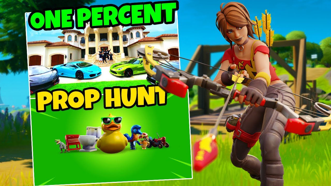 Download I Played PROP HUNT In The ONE PERCENT FORTNITE HOUSE