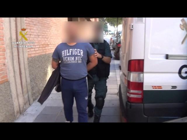 Operación Habitat de la Guardia Civil en Salamanca