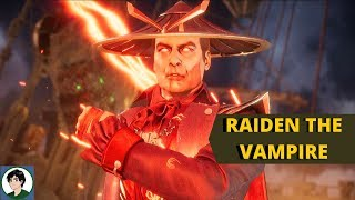 Mortal Kombat 11 - Raiden NEW VAMPIRE Skin + TOO Many Sindel