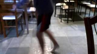 Shuffling to Basshunter-Sandstorm || Featuring random hand actions