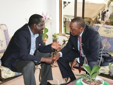 Drop your pride, sit down and talk - Uhuru Kenyatta and Raila Odinga told