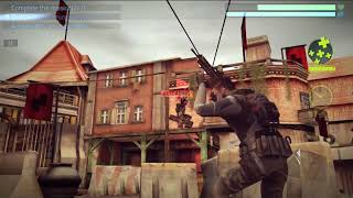 Cover Fire shooting games Campaign Episode 1 Resistance Mission 1-7 Shoot the plate HD
