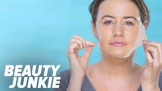 DIY Korean Beauty-Inspired Gel Sheet Mask | Beauty Junkie