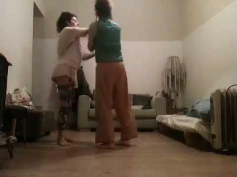 Keren & Sharon  small dance in contact impro