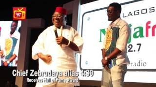 Naija FM Comedy Jamz Award: Chief Zebrudaya recieves Hall Of Fame Award Award
