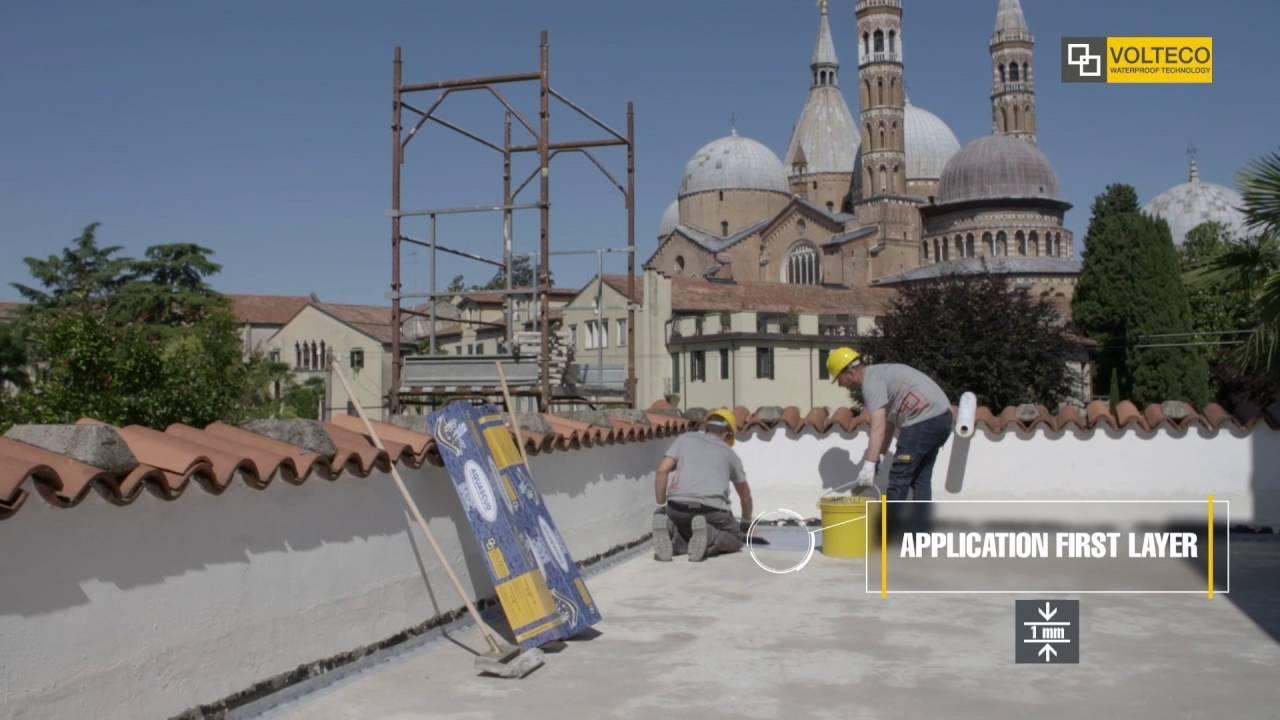 Aquascud system impermeabilizza balconi e terrazzi senza demolire