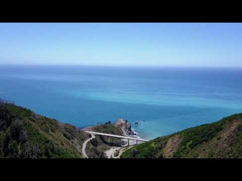 DJI MAVIC PRO BIG SUR MOUNTAINS