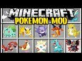 Minecraft POKEMON MOD! (Mod Showcase)