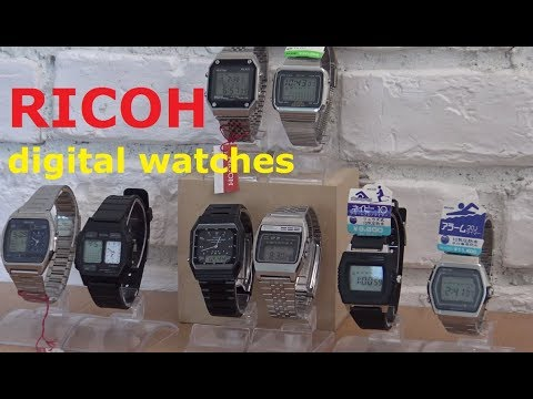Ricoh Digital Watches - Ep 79 - Vintage Digital Watches