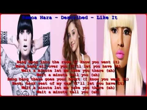 Ariana Grande ft Jessi J n Nicki Minaj Bang Bang [ lyrics on screen ] 2014 HD