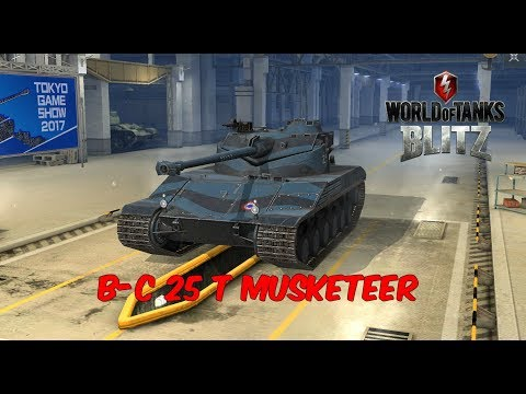 B-C 25 T Musketeer - World of Tanks Blitz