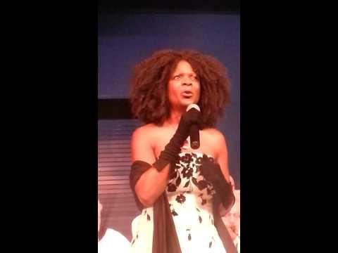 "Mazella Houston sings ""Besame Mucho"" w/the Contra"