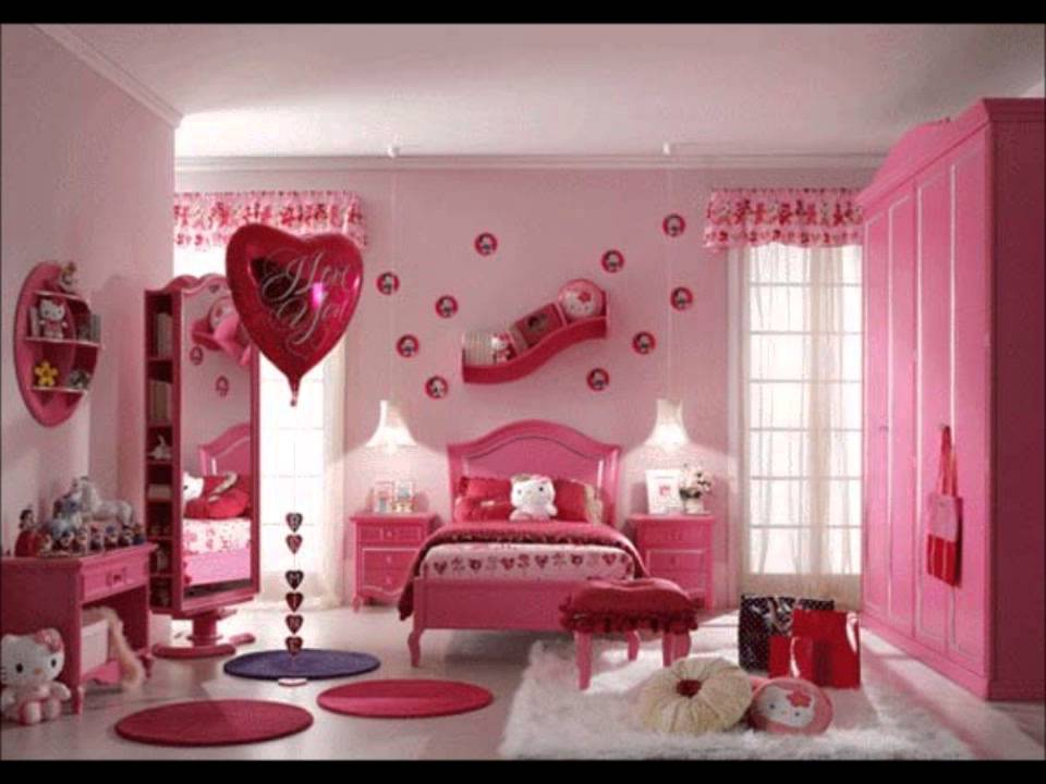 Beautiful Bedrooms*********** - YouTube on Beautiful Room For Girls  id=27722