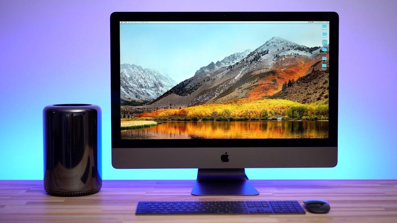Mac Pro Vs Imac Pro Benchmarks Specs Part