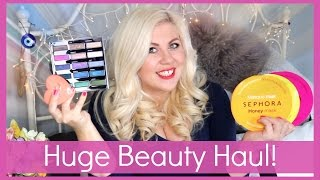 Huge Beauty Haul!