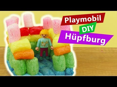 Playmobil DIY Hüpfburg selber machen | Playmobil Idee mit Fun Mais | DIY Spiel Idee