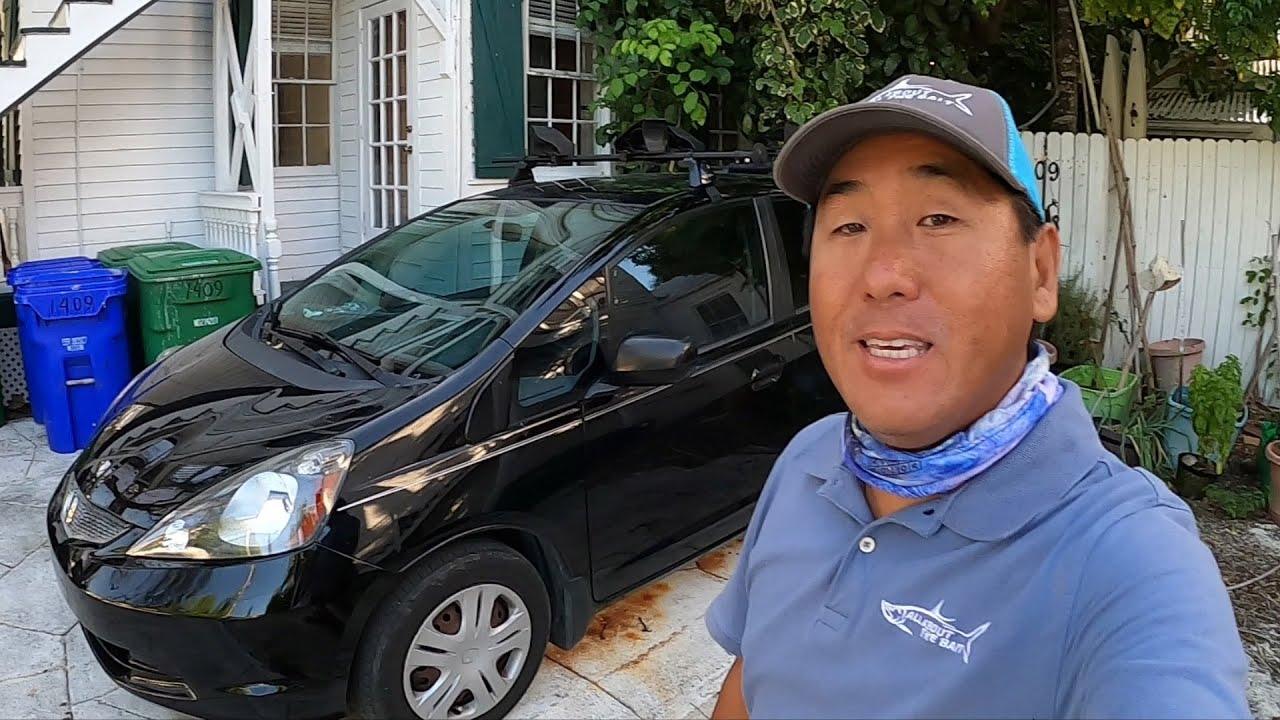 Patreon Supporters Bought Me A Kayak Car - Thank You!!! - Honda Fit Kayak Car