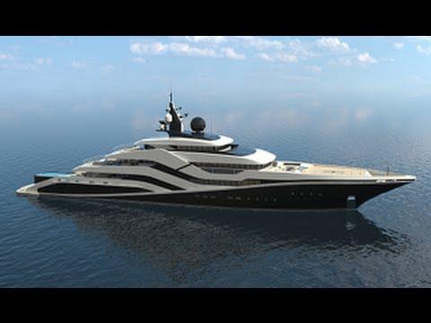 Eivissa II Concept Luxury Superyacht for The Mediterranean Island of Ibiza
