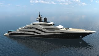 Eivissa II Concept Luxury Superyacht for The Mediterranean Island of Ibiza