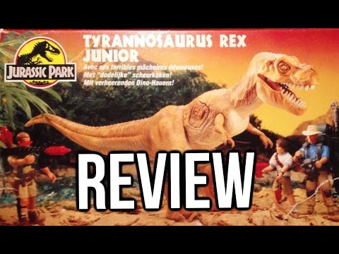 Kenner Jurassic Park Series 1 Tyrannosaurus Rex Junior Review