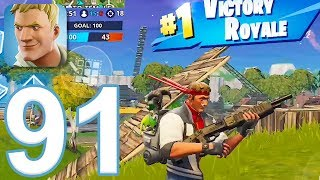 Fortnite - Gameplay Walkthrough Part 91 - Team Rumble and Pump Shotgun (iOS)