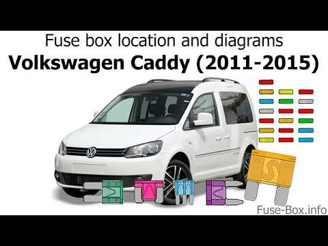 [DIAGRAM_38YU]  Fuse box location and diagrams: Volkswagen Caddy (2011-2015) - YouTube | Vw Caddy Wiring Diagram |  | YouTube