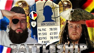 FIFA 18: WM Sieger BATTLESHIP Wager  🏆🔥 WORLD CUP Special Edition 😱