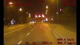 Pościg za kierowcą Audi, ucieczka przed policjią Kraków
