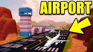 Fuga de presos Aeroporto vazou! PLANOS confirmados (atualização de expansão do mapa)   Roblox jailbreak nova atualização