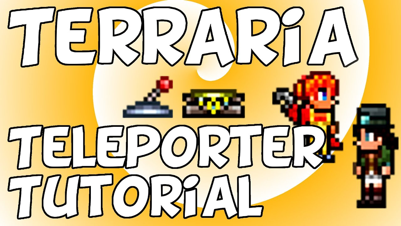 Terraria 13 Teleporter Tutorial Useful And Easy Youtube Wiring Guide