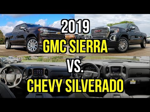 Gm Truck Shootout 2019 Gmc Sierra Denali Vs 2019 Chevy