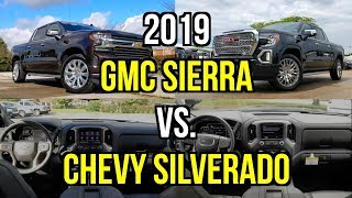 GM Truck Shootout -- 2019 GMC Sierra vs. 2019 Chevy Silverado: Comparison