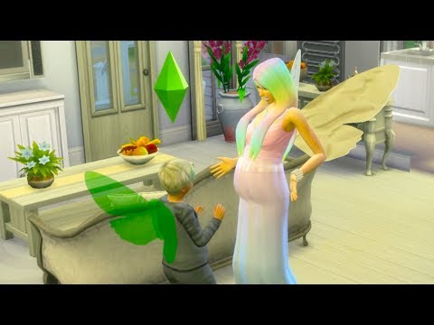 Ready For Baby ! Fairy Family SIMS 4 Game Let's Play  Video Part 32