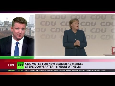 CDU votes for new leader as Merkel steps down after 18 years at helm