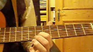 Message to Harry Manback (Tool) on Acoustic Guitar