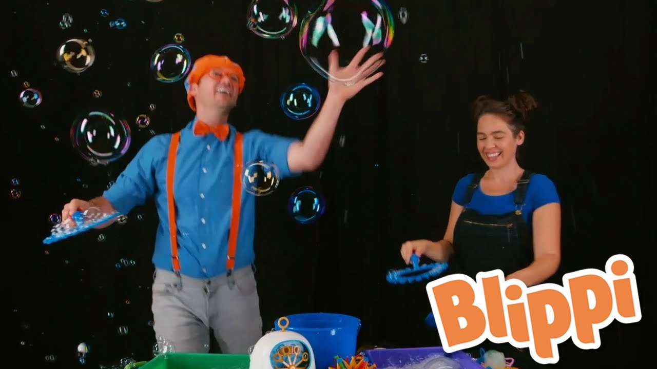 Blippi Bubbles - Educational Videos for Kids