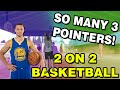 SO MANY 3 POINTERS! - 2 ON 2 BASKETBALL #2