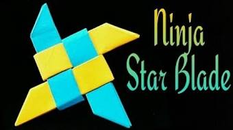 How To Make An Origami 4 Pointed Ninja Star Shuriken