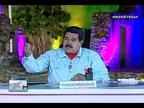 """""""Rajoy apoya el terrorismo en Venezuela"""", denuncia presidente Nicolás Maduro"""