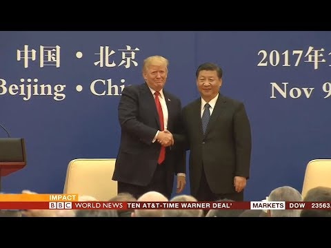 BBC World News Impact - Trump in China