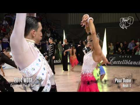 2014 Euro Youth Latin | The Quarterfinal Reel | DanceSport Total